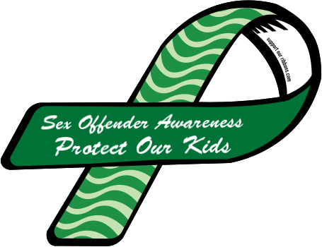 25729-custom-ribbon-magnet-sticker-Sex+Offender+Awareness+++Protect+Our+Kids