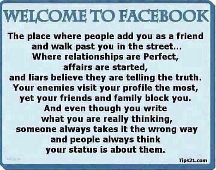 Thoughts on Thursday: Your Most Annoying Facebook Friend ...