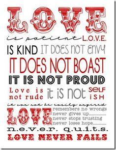 """""""Love"""" this love Subway Art. Not just for Valentine's day. Perfect for every day decor. Free printable from The Girl Creative."""