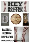 Baseball Bedroom Inspiration
